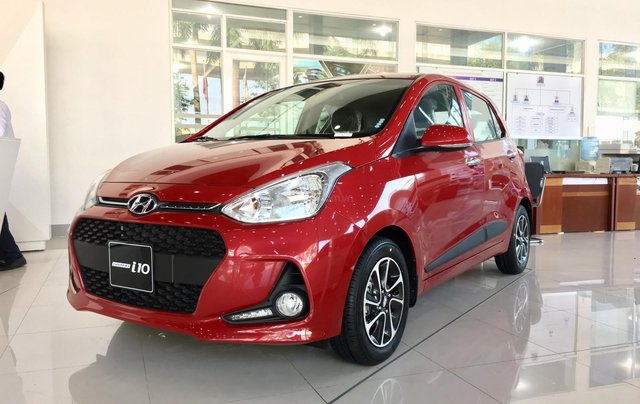 Hyundai Hà Đông: Grand i10 1.2 AT 2021 giá tốt, giao xe trước Tết, hỗ trợ mua trả góp 90% giá trị xe1