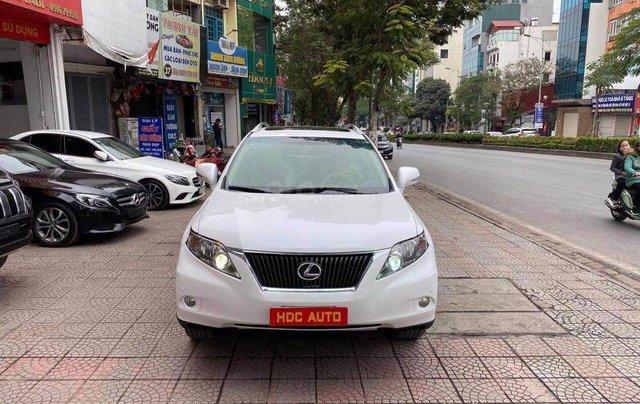 Cần bán gấp Lexus RX sản xuất 2009, màu trắng, giá tốt1