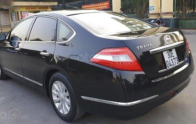 Bán xe Nissan Teana 2.0 AT đời 2010, màu đen, nhập khẩu nguyên chiếc5