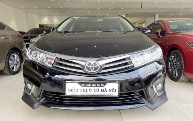 Bán xe Toyota Corolla Altis 2.0AT, màu đen, trả góp chỉ 206 triệu0
