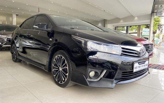 Bán xe Toyota Corolla Altis 2.0AT, màu đen, trả góp chỉ 206 triệu1