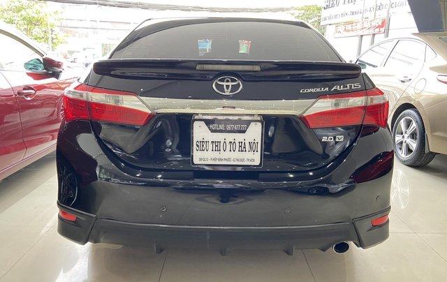 Bán xe Toyota Corolla Altis 2.0AT, màu đen, trả góp chỉ 206 triệu3