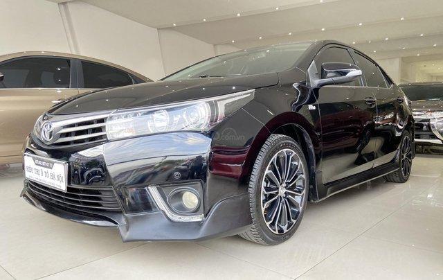 Bán xe Toyota Corolla Altis 2.0AT, màu đen, trả góp chỉ 206 triệu2