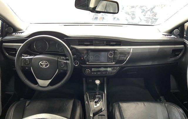 Bán xe Toyota Corolla Altis 2.0AT, màu đen, trả góp chỉ 206 triệu7