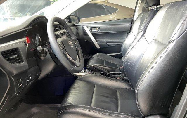 Bán xe Toyota Corolla Altis 2.0AT, màu đen, trả góp chỉ 206 triệu8