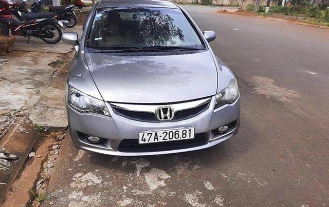 Cần bán gấp Honda Civic 2009, màu xám chính chủ, giá 372tr0