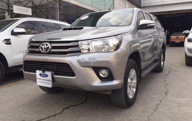 Cần bán xe Toyota Hilux 2.5E MT năm 2015, nhập khẩu nguyên chiếc, giá tốt2