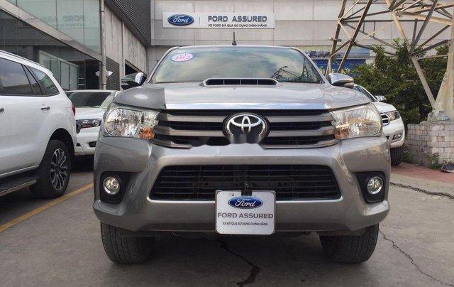 Cần bán xe Toyota Hilux 2.5E MT năm 2015, nhập khẩu nguyên chiếc, giá tốt0
