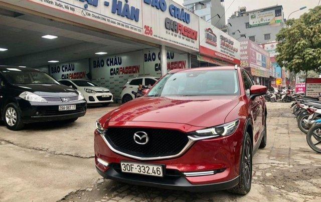 Cần bán xe Mazda CX 5 đời 2018, màu đỏ, biển HN1