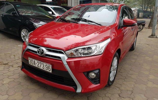 cần bán Toyota Yaris 1.3 2014 đỏ rực rỡ0