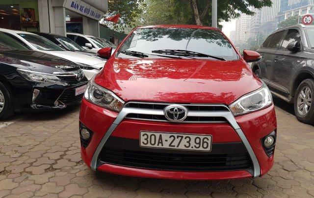 cần bán Toyota Yaris 1.3 2014 đỏ rực rỡ1