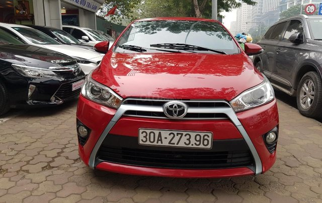 cần bán Toyota Yaris 1.3 2014 đỏ rực rỡ2