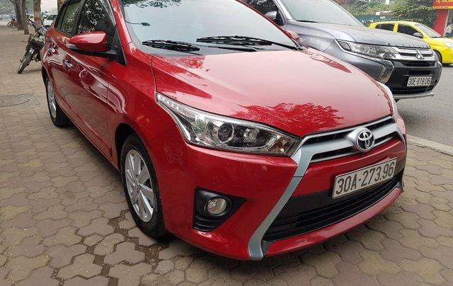 cần bán Toyota Yaris 1.3 2014 đỏ rực rỡ3