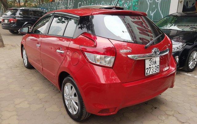 cần bán Toyota Yaris 1.3 2014 đỏ rực rỡ4