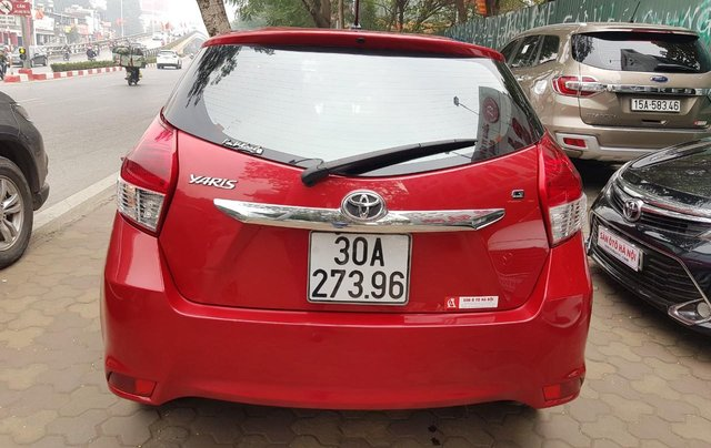 cần bán Toyota Yaris 1.3 2014 đỏ rực rỡ5