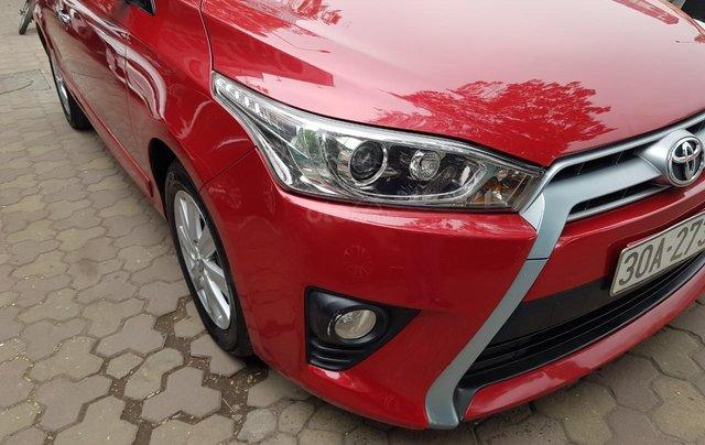 cần bán Toyota Yaris 1.3 2014 đỏ rực rỡ8