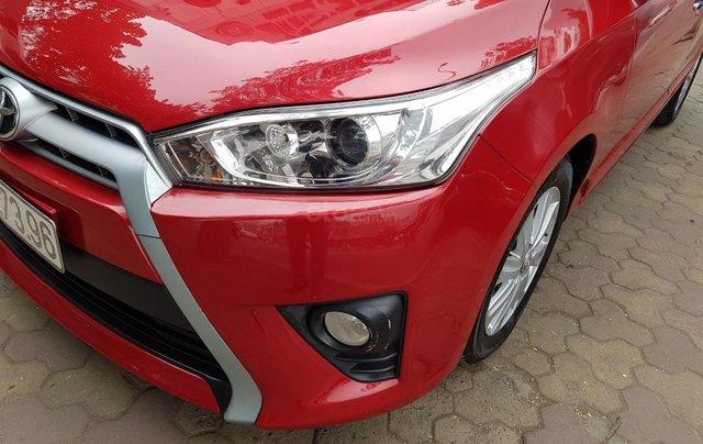 cần bán Toyota Yaris 1.3 2014 đỏ rực rỡ7