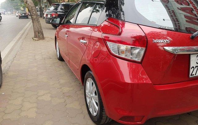cần bán Toyota Yaris 1.3 2014 đỏ rực rỡ11