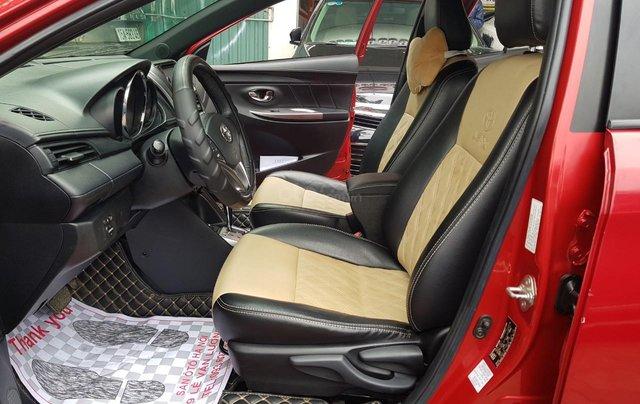 cần bán Toyota Yaris 1.3 2014 đỏ rực rỡ13