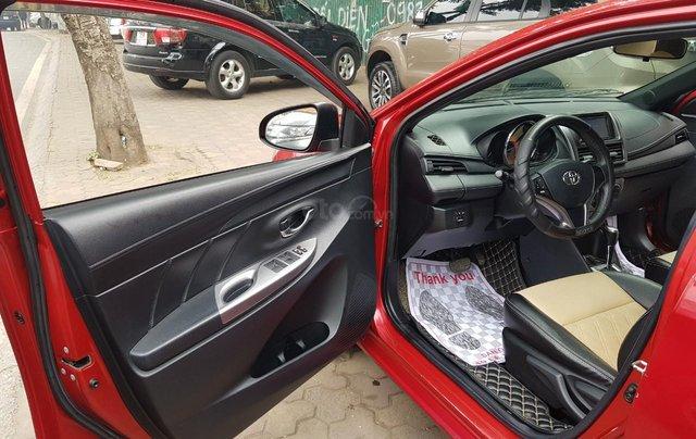 cần bán Toyota Yaris 1.3 2014 đỏ rực rỡ14