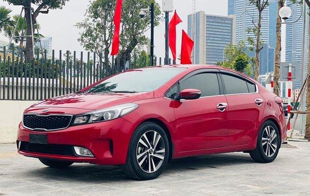 Bán Kia Cerato năm sản xuất 2018, màu đỏ1