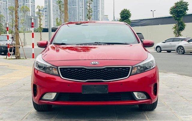Bán Kia Cerato năm sản xuất 2018, màu đỏ0