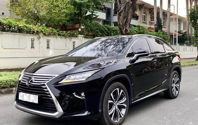 Cần bán gấp Lexus RX 350 sản xuất năm 2020, màu đen, nhập khẩu0