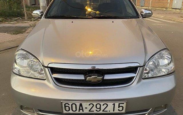 Cần bán lại xe Daewoo Lacetti đời 2009, màu bạc 2