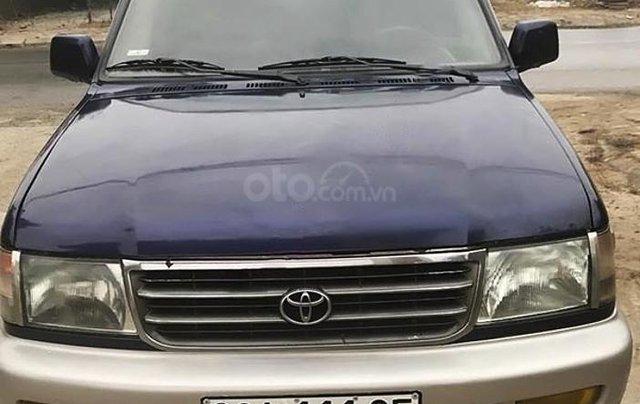 Bán ô tô Toyota Zace GL năm sản xuất 2001, màu xanh lam, giá tốt0