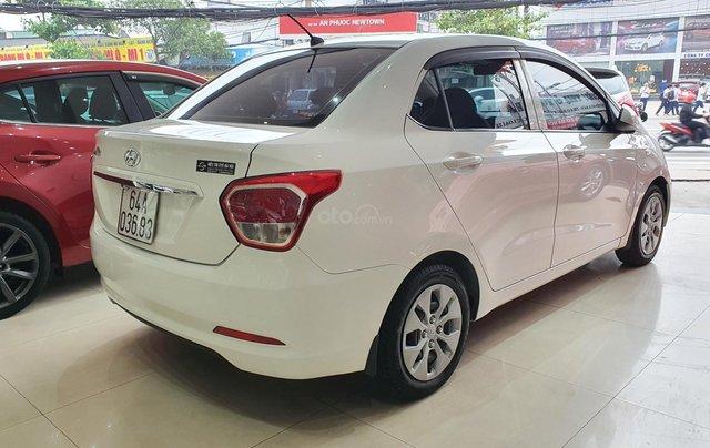 Bán xe Hyundai i10 năm 2016, nhập Ấn Độ, màu trắng, số sàn, lăn bánh 68000km, xe đẹp, bao test hãng5