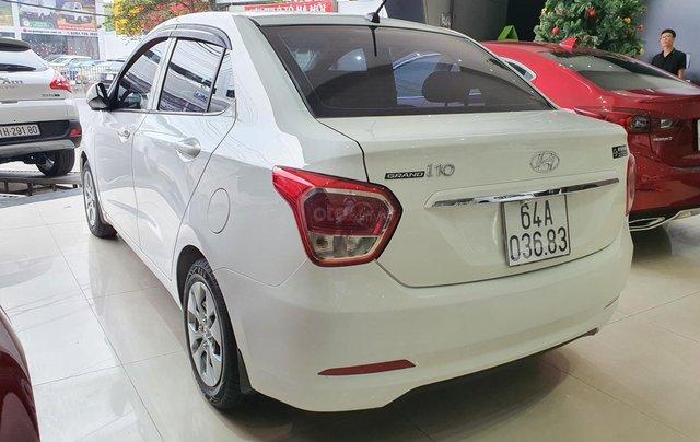 Bán xe Hyundai i10 năm 2016, nhập Ấn Độ, màu trắng, số sàn, lăn bánh 68000km, xe đẹp, bao test hãng4