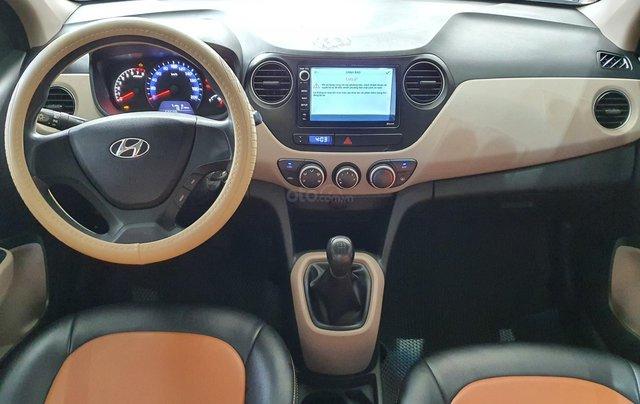 Bán xe Hyundai i10 năm 2016, nhập Ấn Độ, màu trắng, số sàn, lăn bánh 68000km, xe đẹp, bao test hãng7