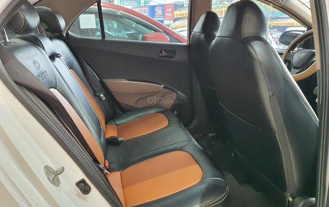 Bán xe Hyundai i10 năm 2016, nhập Ấn Độ, màu trắng, số sàn, lăn bánh 68000km, xe đẹp, bao test hãng10