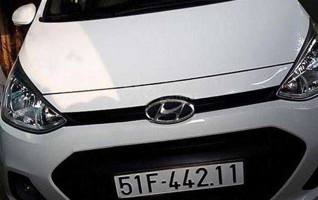 Bán ô tô Hyundai Grand i10 đời 2016, màu trắng, nhập khẩu3