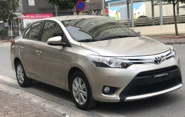 Bán xe Toyota Vios G 2018, màu vàng cát2