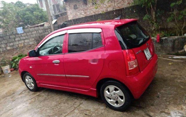 Cần bán Kia Morning năm sản xuất 2007, màu đỏ, xe nhập2