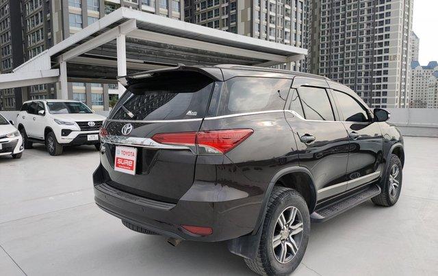 Cần bán xe Toyota Fortuner 2.4G MT 2017 màu nâu GĐ ĐN đi 124.000km - xe cũ chính hãng Toyota Sure4