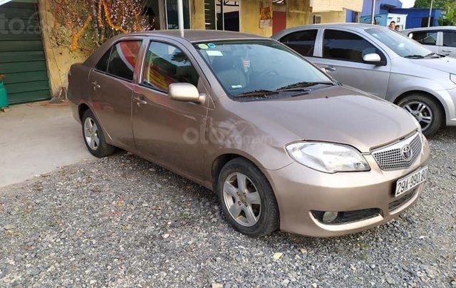 Bán gấp xe Toyota Vios đời 2007, màu đồng lịch lãm, giá tốt2