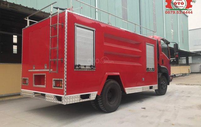 Bán xe chữa cháy, cứu hỏa phun nước 5 khối Izuzu0