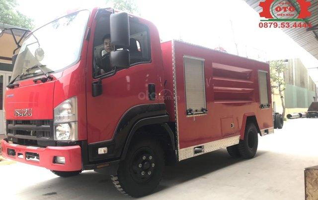 Bán xe chữa cháy, cứu hỏa phun nước 5 khối Izuzu3