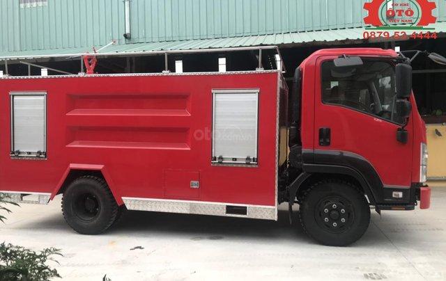 Bán xe chữa cháy, cứu hỏa phun nước 5 khối Izuzu5
