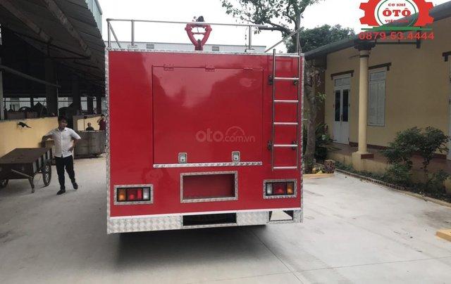 Bán xe chữa cháy, cứu hỏa phun nước 5 khối Izuzu2