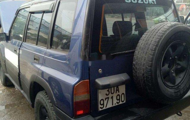 Xe Suzuki Grand vitara năm sản xuất 2003, màu xanh lam2