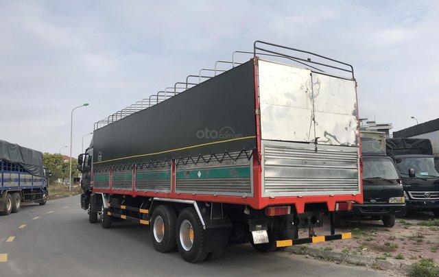 Bán Auman 4 chân 2016 thùng dài 9,5m lốp mới0