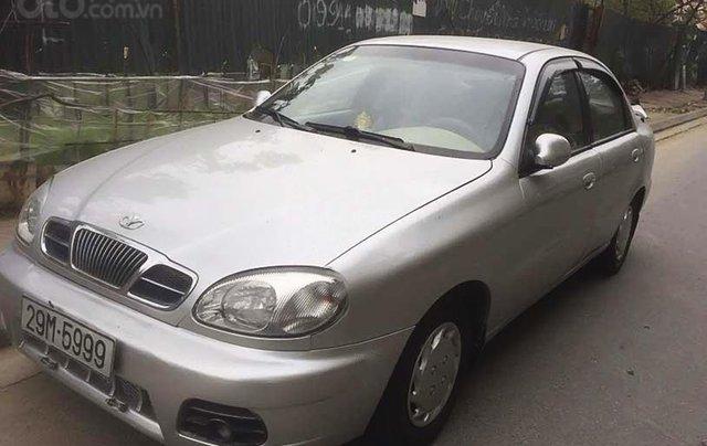 Bán xe Daewoo Lanos năm sản xuất 2002, màu bạc0