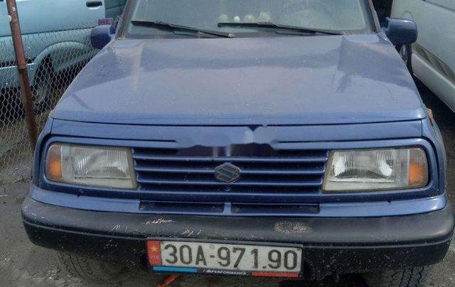 Xe Suzuki Grand vitara năm sản xuất 2003, màu xanh lam0