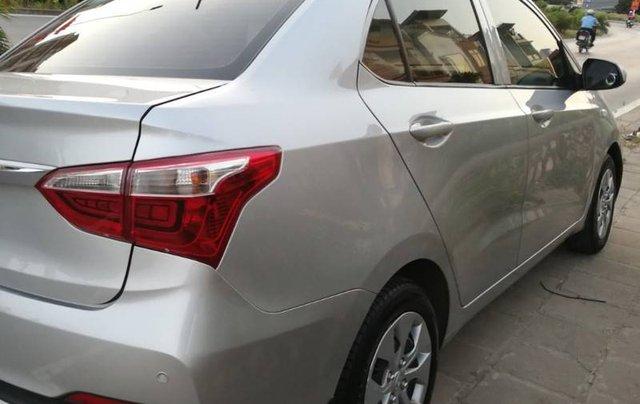Cần bán lại xe Hyundai Grand i10 đời 2018, màu bạc ít sử dụng, giá 346tr0