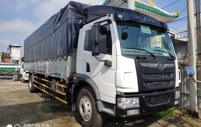Bán xe tải Faw 8,7 tấn thùng dài 8,2 mét chuyển chở pallet8