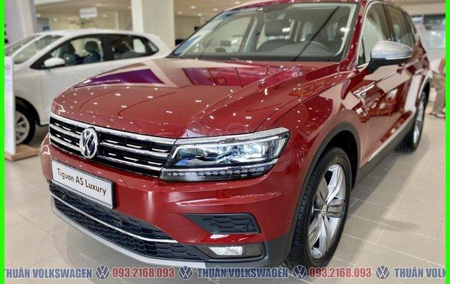 [VW Trường Chinh] Giảm trước bạ 100% Tiguan Luxury màu đỏ tháng 3/2021, luôn có sẵn nhiều xe, nhiều màu giao ngay2