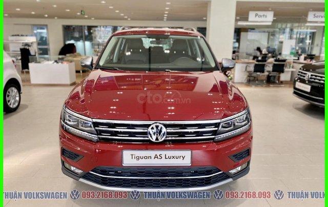 [VW Trường Chinh] Giảm trước bạ 100% Tiguan Luxury màu đỏ tháng 3/2021, luôn có sẵn nhiều xe, nhiều màu giao ngay6